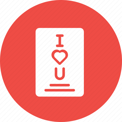 Card, gift, greetings, i love you, letter, love, valentine icon - Download on Iconfinder