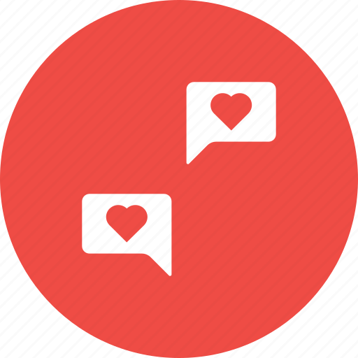 Chat, communication, feeling, love, message, share, valentine icon - Download on Iconfinder