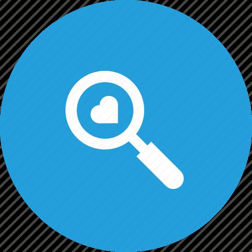 Find, heart, love, relation, search, true, valentine icon - Download on Iconfinder