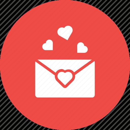 Communication, envelope, letter, love, mail, message, valentine icon - Download on Iconfinder