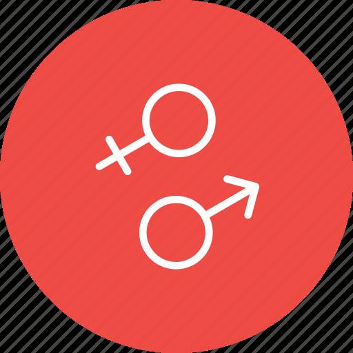 Attraction, female, gender, male, sex, valentine icon - Download on Iconfinder