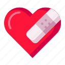 break, heal, heart, love, moveon, sorry, valentine icon