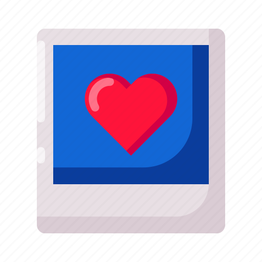frame, gift, heart, love, photo, picture, valentine icon