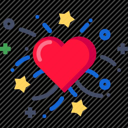celebration, day, decoration, heart, love, valentine icon