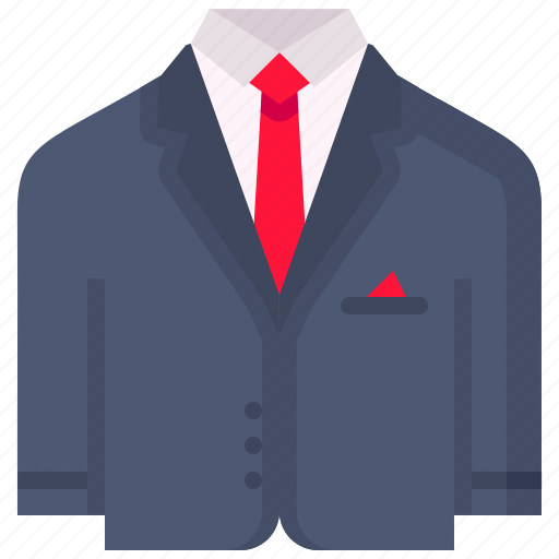 blazer, dress, gentleman, suit, valentine icon
