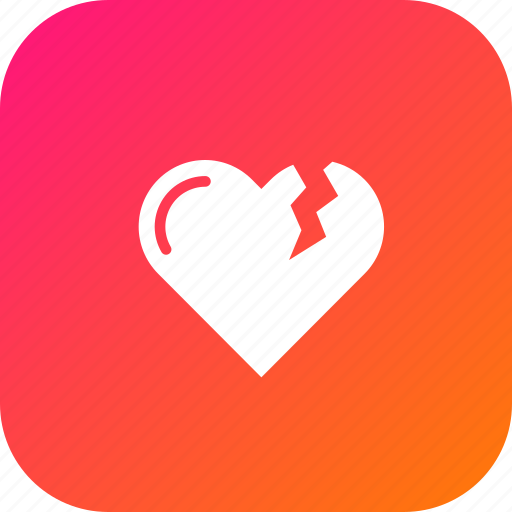 Bakeup, heart, love, moveon, reject, relation, valentine icon - Download on Iconfinder