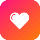 attract, feeling, heart, like, love, valentine icon