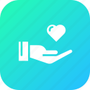 care, feel, gentleman, hand, heart, love, valentine icon