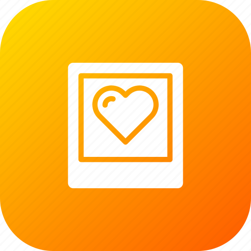 Frame, gift, heart, love, photo, picture, valentine icon - Download on Iconfinder