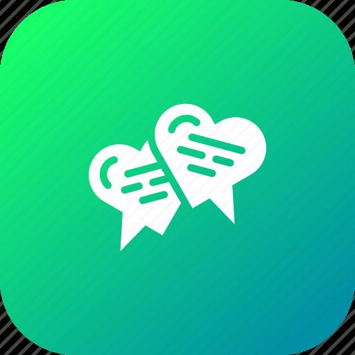 Chat, chatting, love, message, talk, valentine icon - Download on Iconfinder