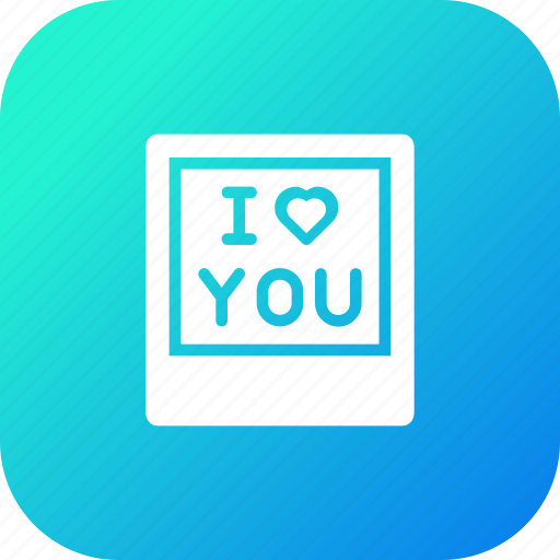 Frame, gift, i, love, present, valentine, you icon - Download on Iconfinder