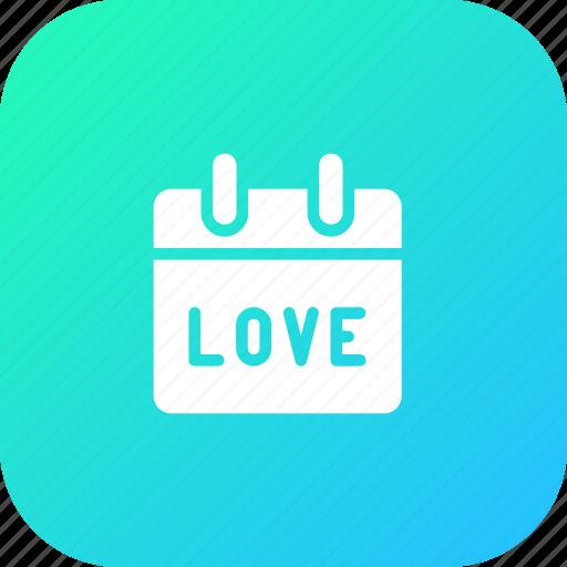 Calendar, day, love, reminder, valentine icon - Download on Iconfinder