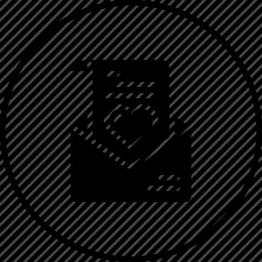 Communication, envelope, heart, letter, love, message, valentine icon - Download on Iconfinder