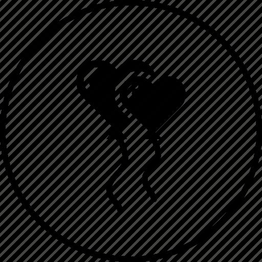 Balloon, celebrate, decoration, propose, setup, valentine icon - Download on Iconfinder