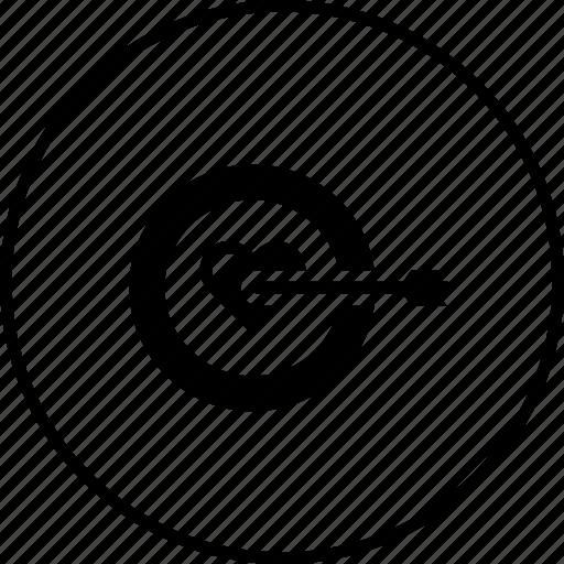 Achieve, find, love, person, target, true, valentine icon - Download on Iconfinder