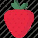 love, lovefruit, strawberry, valentine icon