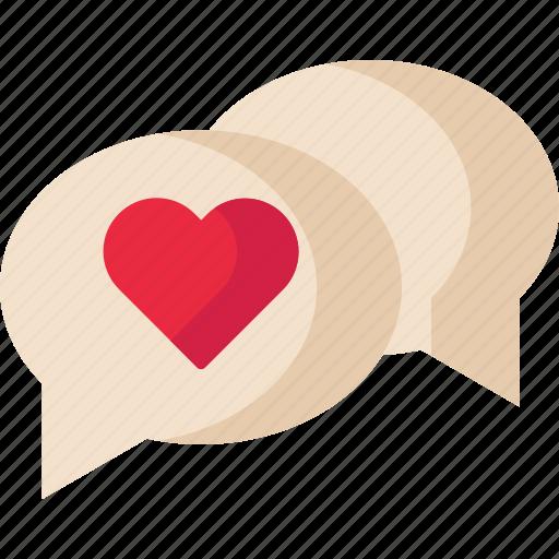 Chat, love, message, valentine icon - Download on Iconfinder