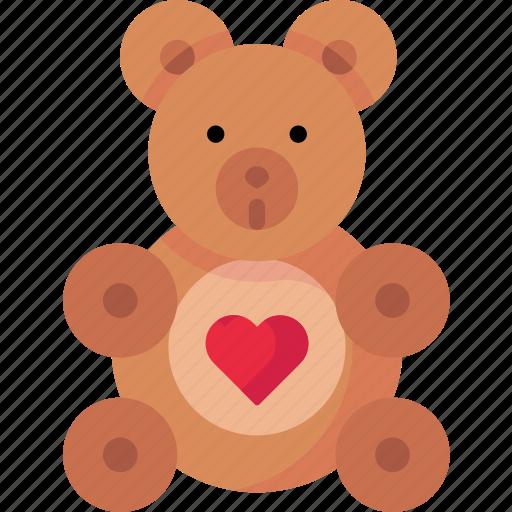 Cuddlybear, love, teddy, teddybear, valentine icon - Download on Iconfinder