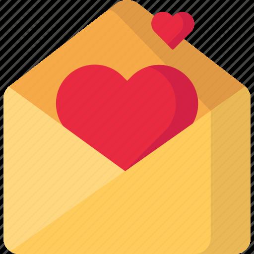 Heart, mail, message, valentine icon - Download on Iconfinder