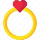 love, proposal, ring, romantic, valentine icon
