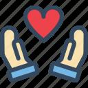 hand, heart, love, sacred, valentine, varlk