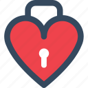 heart, lock, love, varlk icon