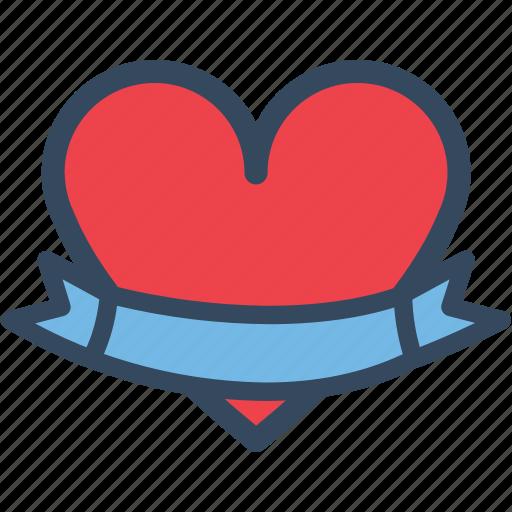 Banner, heart, love, valentine, varlk icon - Download on Iconfinder