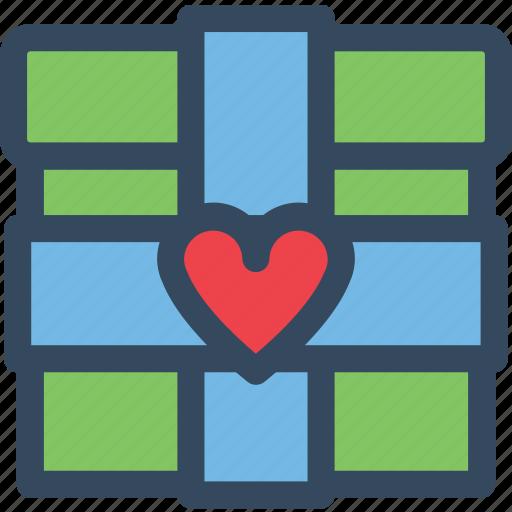 Gift, heart, love, romance, valentine, varlk icon - Download on Iconfinder