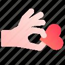 care, give, heart, love, take, valentine, valentines icon