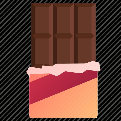 chocolate, dessert, love, valentine, valentines icon