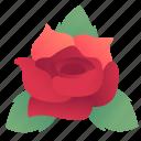 flower, love, rose, valentine, valentine's day, valentines icon