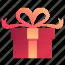 box, gift, love, present, valentine, valentines icon