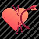 callous, heart, love, unbreakable, valentine, valentines icon