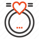 love, merraige, ring, wedding icon