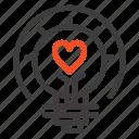 bulb, light, tips, valentine