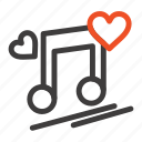 love, lyrics, music, node, song icon