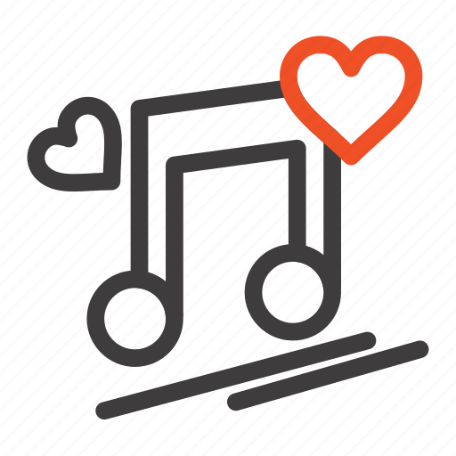 love, lyrics, music, node, song icon