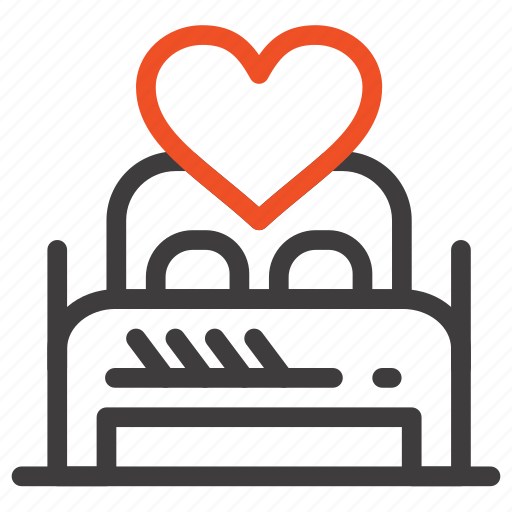 bed, couple, love, lover, night, room, valentine icon