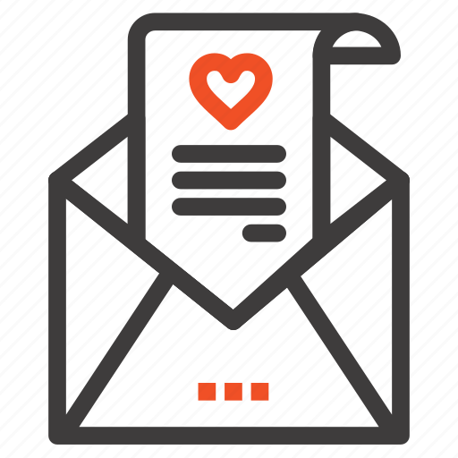 card, letter, love, mail, proposal, wedding icon