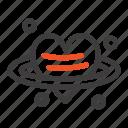 day, heart, love, valentine, valentines icon