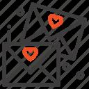 email, glasses, love, wedding