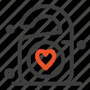 heart, love, tag, wedding icon