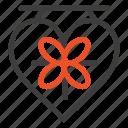 board, heart, love, wedding
