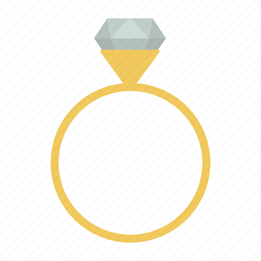 diamond, engagement, gem, gold, jewelry, ring, valentine icon