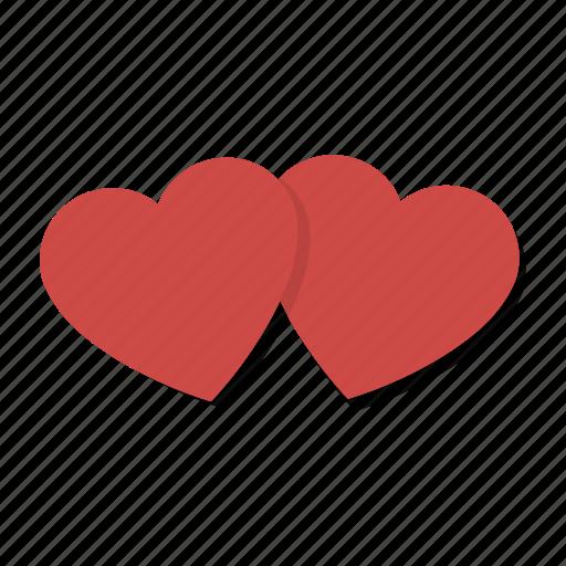 couple, hearts, love, romance, valentine, valentine's day, valentines icon