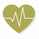 beat, heart, heartbeat, love, pulse, rhythm, valentine icon