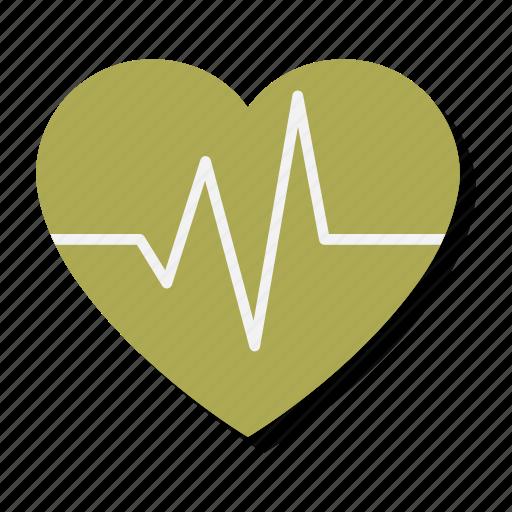beat, heart, heartbeat, love, pulse, rhythm, valentine icon