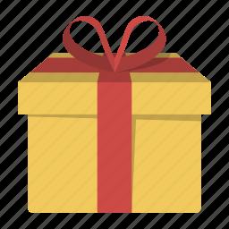 birthday, box, gift, giftbox, package, present, valentine icon