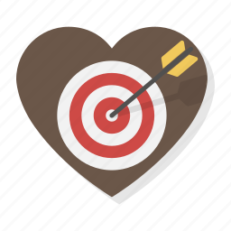 cupidon, heart, love, shooting, target, valentine, valentines icon