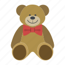 bear, gift, love, teddy, teddy bear, toy, valentine icon